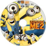 Despicable Me 2 (2013) R0 Custom CD Cover