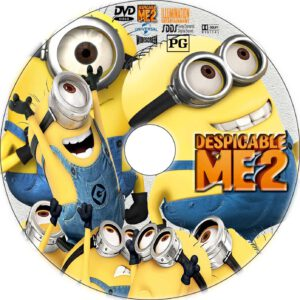 despicable me 2 cd cover