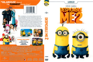 Despicable Me 2 front DVD Cover