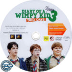Diary of a Wimpy Kid 3: Dog Days (2012) R4 DVD Label