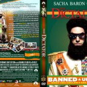 The Dictator (2012) – Front DVD Cover