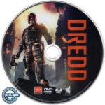 Dredd (2012) R4 DVD Label