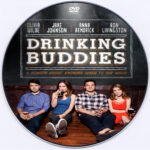 Drinking Buddies (2013) Custom DVD Label