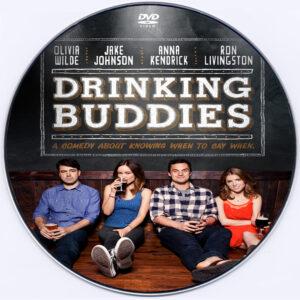 Drinking Buddies 2013 dvd label
