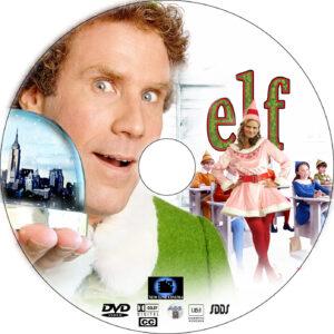 elf dvd label