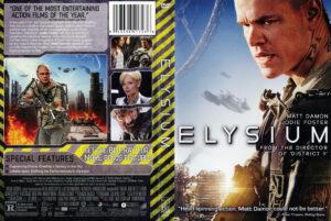 Elysium 2013 dvd cover