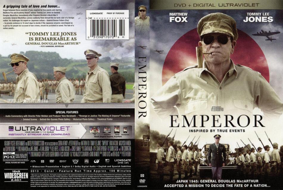 Emperor (2013) WS R1 Movie DVD Front DVD Cover
