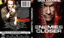Enemies Closer (2013) R1 Custom DVD Cover