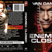 Enemies Closer (2013) R1 Custom DVD Cover