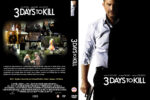3 Days To Kill (2013) Custom DVD Cover