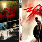 300 Rise Of An Empire (2014) Custom DVD Cover