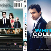 White Collar Season 4 (2012) R1 Custom DVD Cover