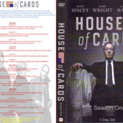 House Of Cards Season One Custom DVD Cover