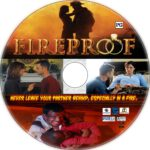 Fireproof (2008) R1 Custom DVD label