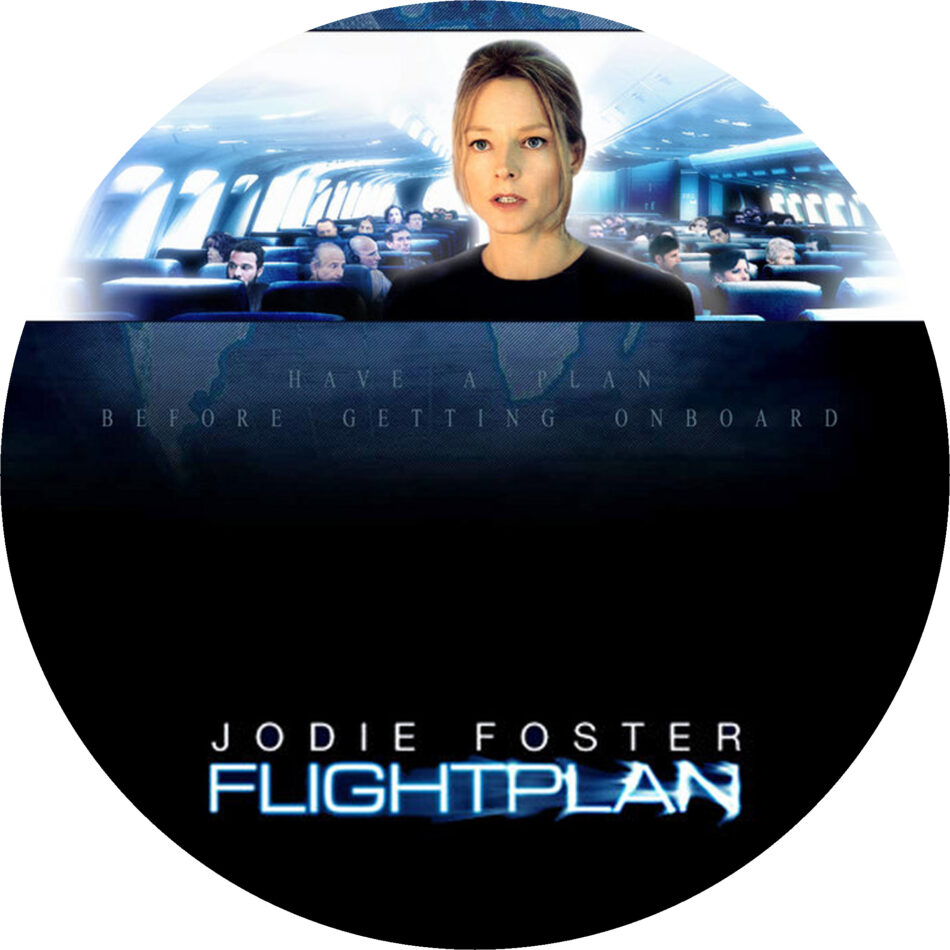 Flightplan 2005 Ws R1 Movie Dvd Cd Label Dvd Cover Front Cover