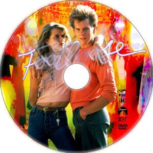 footloose 1984 dvd label