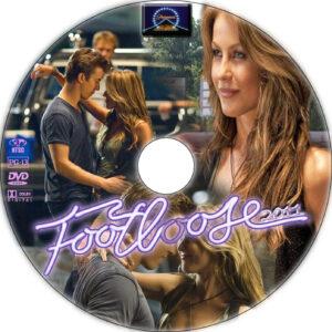 footloose dvd label