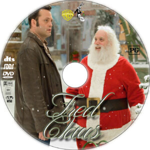 fred claus dvd label
