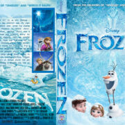 Frozen (2013) R1 Custom DVD Cover