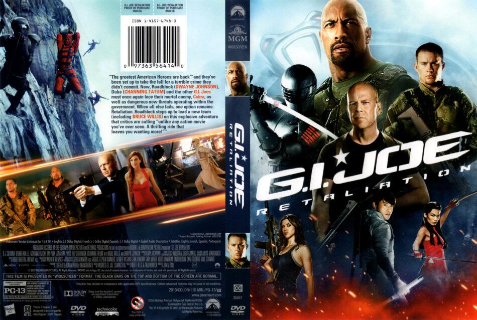 G I Joe Retaliation 2013 Ws R1 Movie Dvd Front Dvd Cover