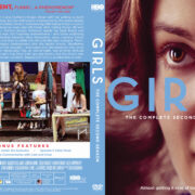 Girls: Season 2 (2013) R1 Custom DVD Cover