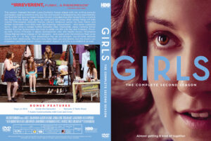 Girls Season 2 (2013) dvd cover