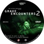 Grave Encounters 2 (2012) Custom dvd/blu-ray labels