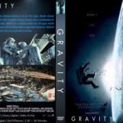 Gravity (2013) R1 Custom DVD Cover