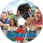 Grown Ups 2 (2013) R1 Custom CD Cover