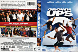 Grown Ups 2 dvd cover