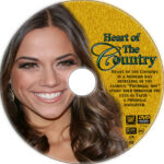 Heart of The Country (2013) R1 Custom DVD label
