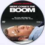 Here Comes The Boom (2012) R0 Custom DVD Label