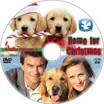 Home for Christmas: A Golden Christmas 3 (2012) R1 Custom DVD label