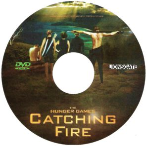 Hunger Games 2 Catching Fire (2013) R0 custom disc