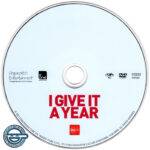 I Give It A Year (2013) R4 DVD Label