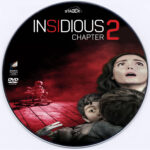 Insidious Chapter 2 (2013) Custom CD Cover