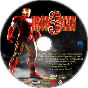 iron man 3 cd cover