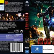 Iron Man 3 (2013) R4 Blu-Ray DVD Cover