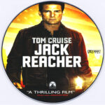 Jack Reacher (2012) R0 DVD Label