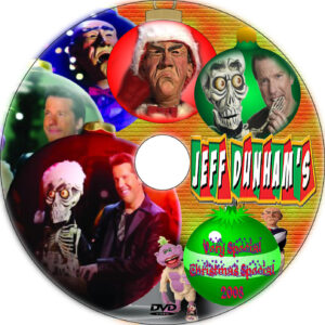 jeff dunham christmas dvd label