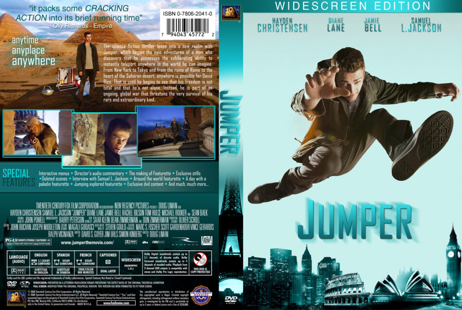 Jumper 2008 Movie Dvd Cd Cover Dvd Cover Front Cover