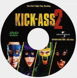 Kick Ass 2 (2013) R0 custom disc 001