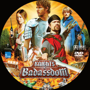 Knights of Badassdom Custom DVD Label