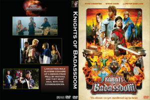 Knights of Badassdom DVD Cover (2014) Custom Art dvd cover