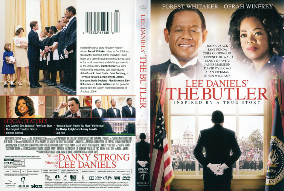 Lee Daniels The Butler Dvd Cover 2013 R1