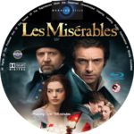 Les Misérables (2012) R0 Custom Blu-Ray/DVD Labels