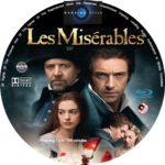 Les Misérables (2012) R0 Custom Blu-Ray/DVD Labels