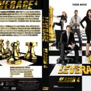 Leverage: Season 4 (2011) R0 CUSTOM
