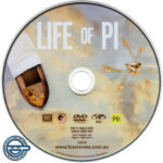 Life of Pi (2012) R4 DVD Label