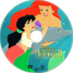 The Little Mermaid 2 (2000) R1 Custom DVD Label